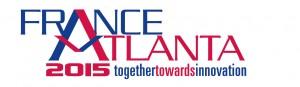 France-Atlanta 2015 logo