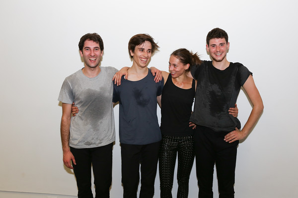 French choreographer Noé Soulier with Nans Pierson, Anna Massoni and Lucas Bassereau